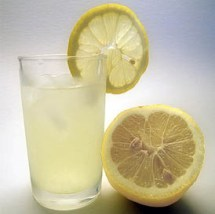 Limonada desintoxicante.