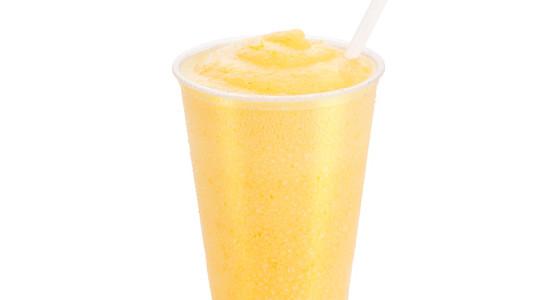 Dulce helado de mandarina