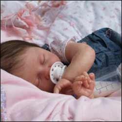 El Recién nacido y el sueño