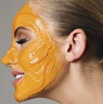 Humectante de mango para el rostro.
