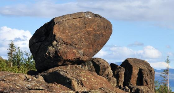 La roca en el camino