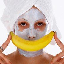 Mascarilla de plátano para prevenir arrugas.