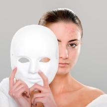 Mascarilla para borrar las marcas del acné y cerrar los poros.