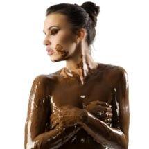 Mascarilla reafirmante de chocolate.