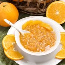 Fácil mermelada casera de naranja.
