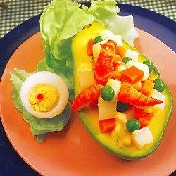 Palta Rellena muy fácil de hacer nutritiva y deliciosa