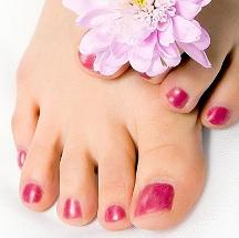 Mascarilla para eliminar las asperezas de tus pies.