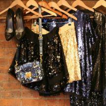 Tips para usar prendas brillantes.