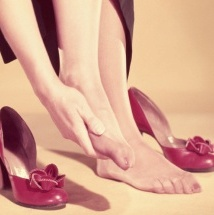 Remedio casero para aliviar el dolor de pies.