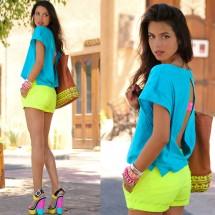 Tips básicos para lucir prendas color neón.