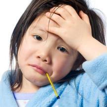Tips para bajarle la fiebre a los chicos.