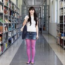Tips para usar medias de colores.