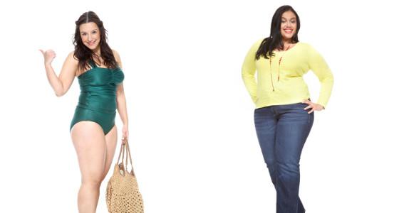 Trucos de moda para mujeres con curvas