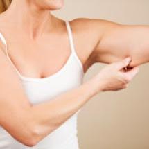 Mascarilla para eliminar la flacidez de tus brazos.
