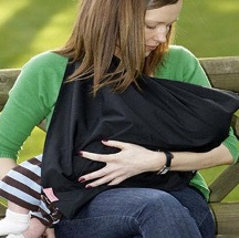 5 formas de usar un pañuelo con un bebe.