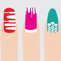 ¡Atrévete! Cambia la forma de tus uñas.