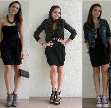 Tips para usar un vestido negro.